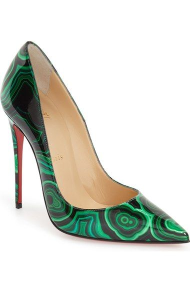 Christian Louboutin 'So Kate - Marble' Pointy Toe Pump (Women) available at #Nordstrom