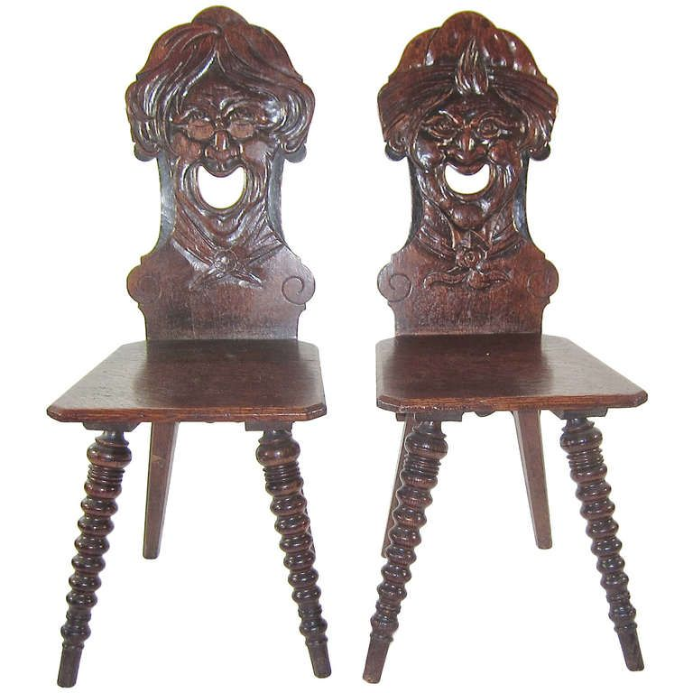 - Antiques For Antique Chairs With Carved Faces Www.antiqueslink.com