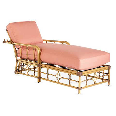 Mimi Chaise, Coral   Patio and back porch   Pinterest   Coral