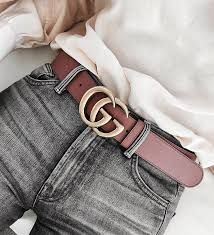 d16fcb4c1e9  350.00 GUCCI - Gucci women leather belt with Double G buckle - SOLD by  GUCCI -