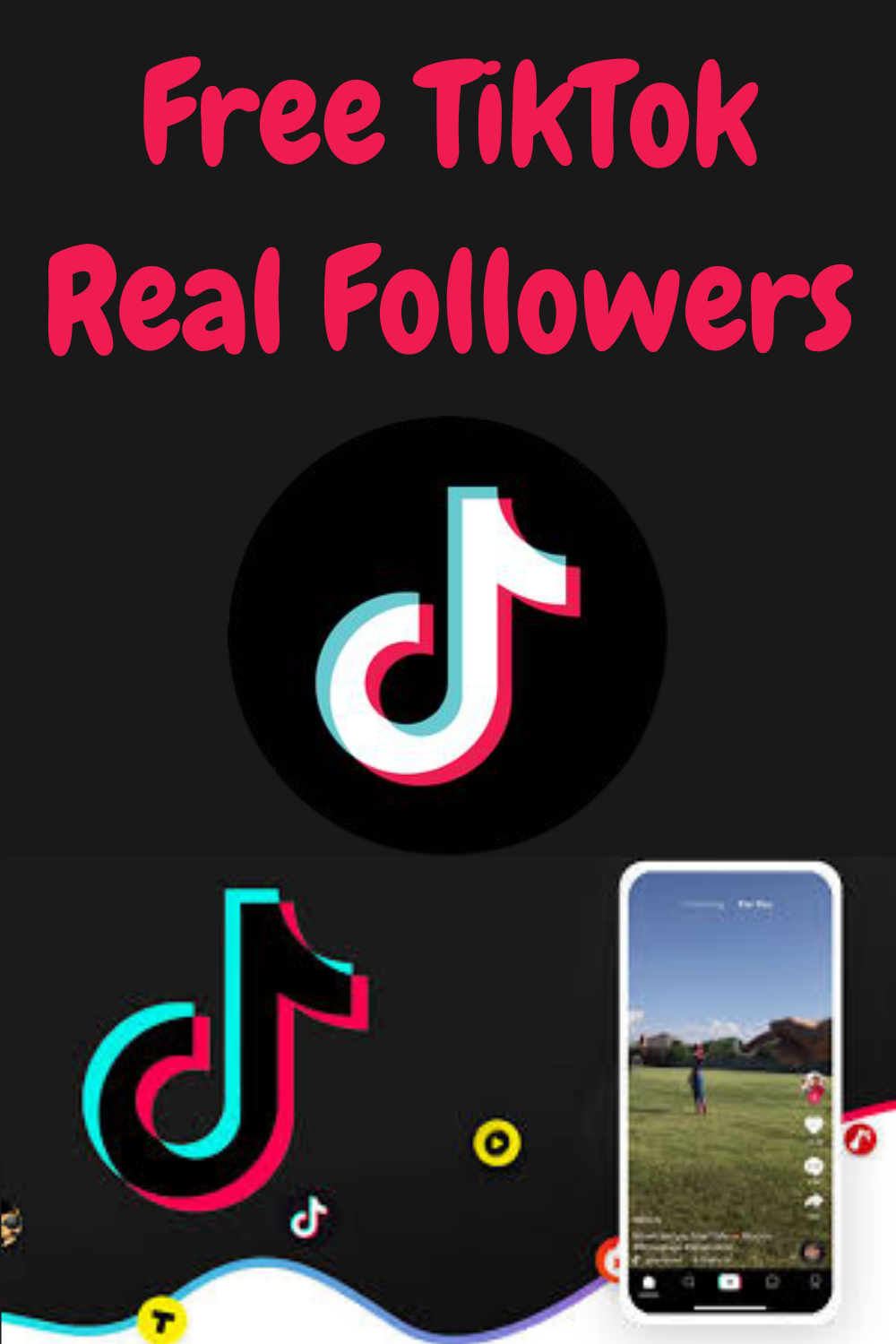 How To Increase Tiktok Real Followers And Likes In 2021 Instagram Likes And Followers Real Followers How To Memorize Things