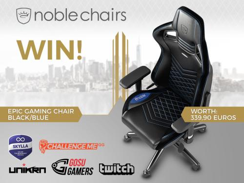 Astonishing Splurgy Skylla Giveaway Win A Noblechairs Epic Series Inzonedesignstudio Interior Chair Design Inzonedesignstudiocom