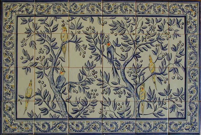 Decorative Spanish Tiles Endearing 17Th Century Italian Tile Murals Spanish Tile Victorian Tile 2018