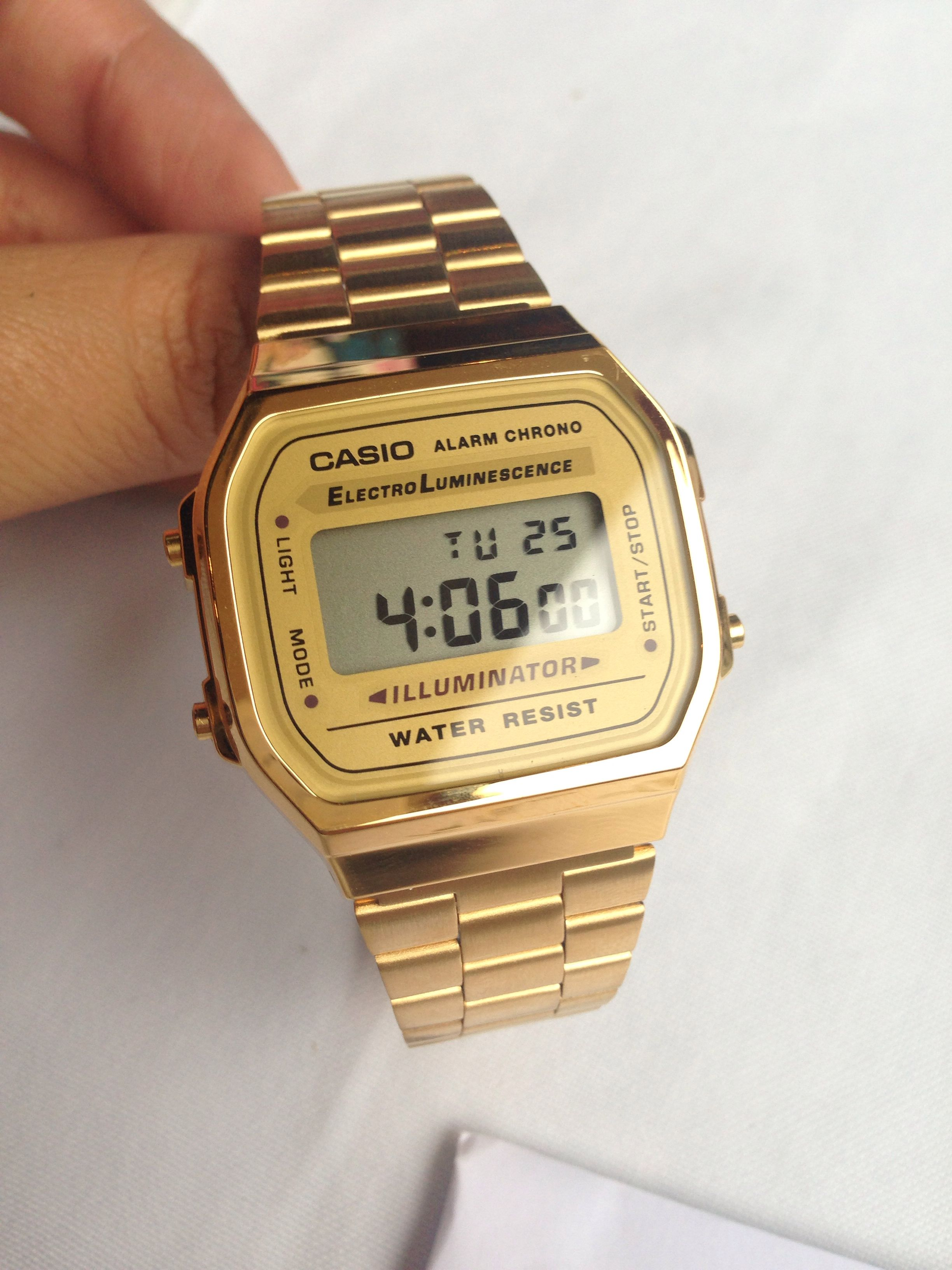 a8a71a0de01 Casio watch gold http   neonwatch.tumblr.com post 101744918811