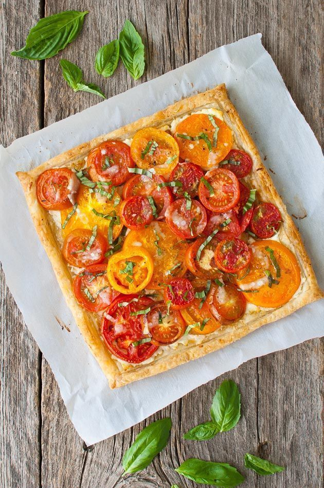 Tomato, Goat Cheese, and Caramelized Onion Tart Tomato, Goat Cheese, and Caramelized Onion Tart,
