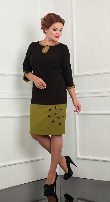 177b5fdd477 интернет магазин женской одежды   Lady Line 398 платья Нарядные Платья