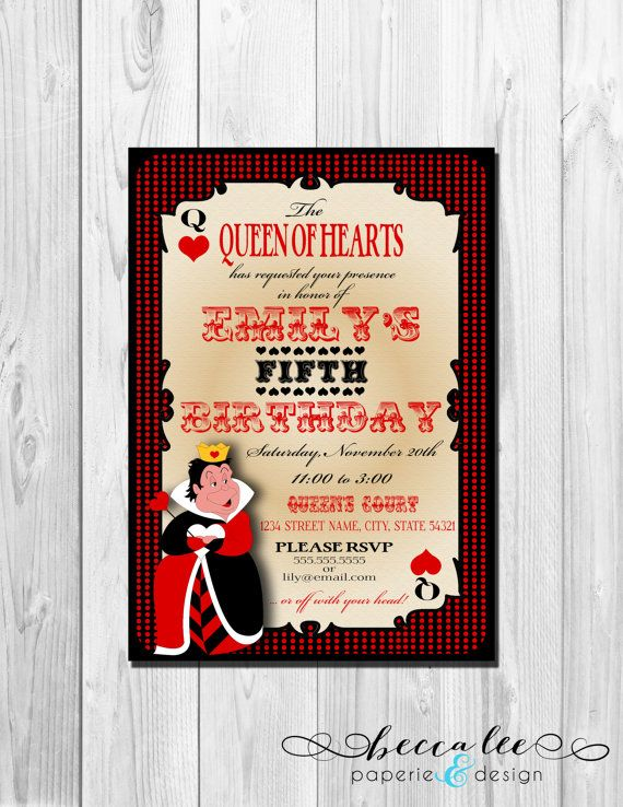 Alice In Wonderland Queen Of Hearts