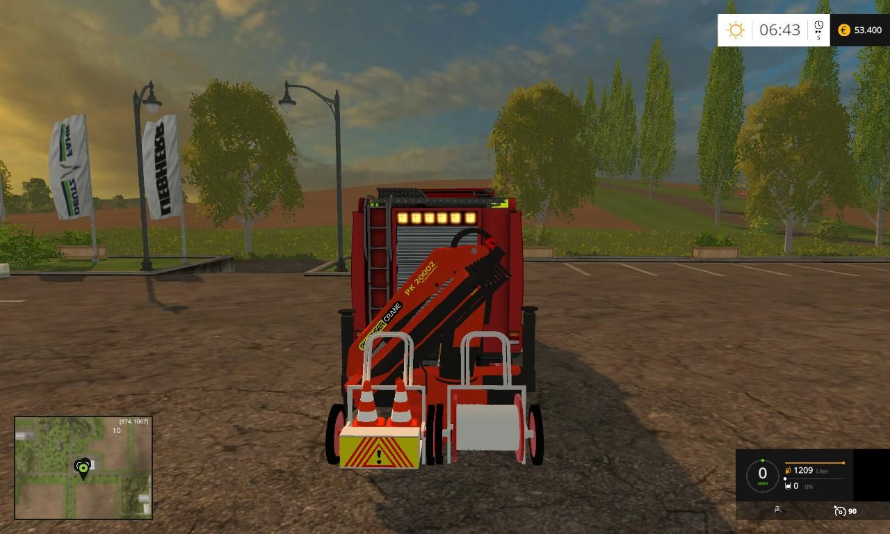 FEUERWEHR AT 4 BETA for FS 15 Mod download | construction