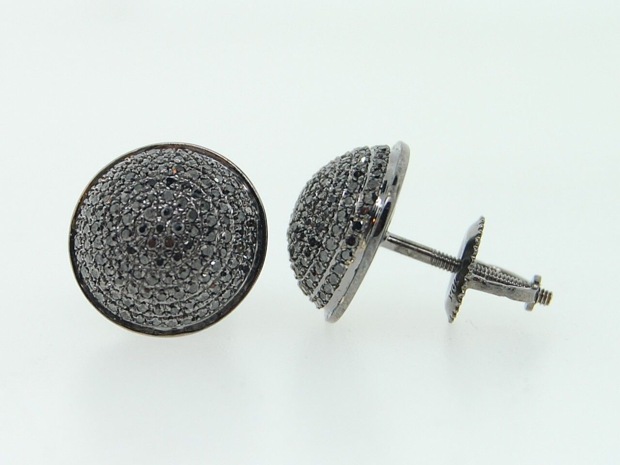 Diamond Stud Earrings For Men Hd Real Black Diamond Earrings