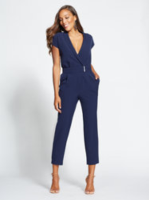 c2fc3c01314b Wrap Jumpsuit - Gabrielle Union Collection