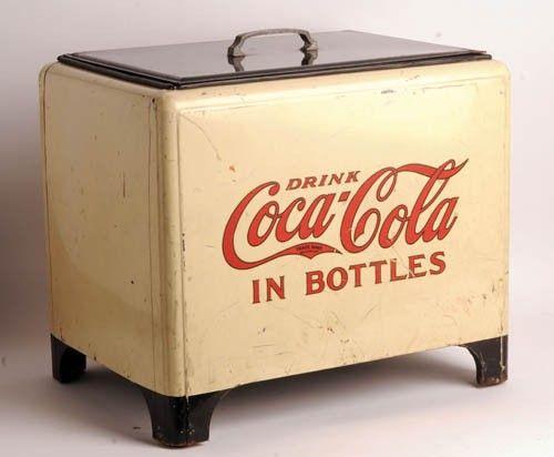 Retro Kühlschrank Cola : 331: 1930's coca cola cooler on coca cosas pinterest brause