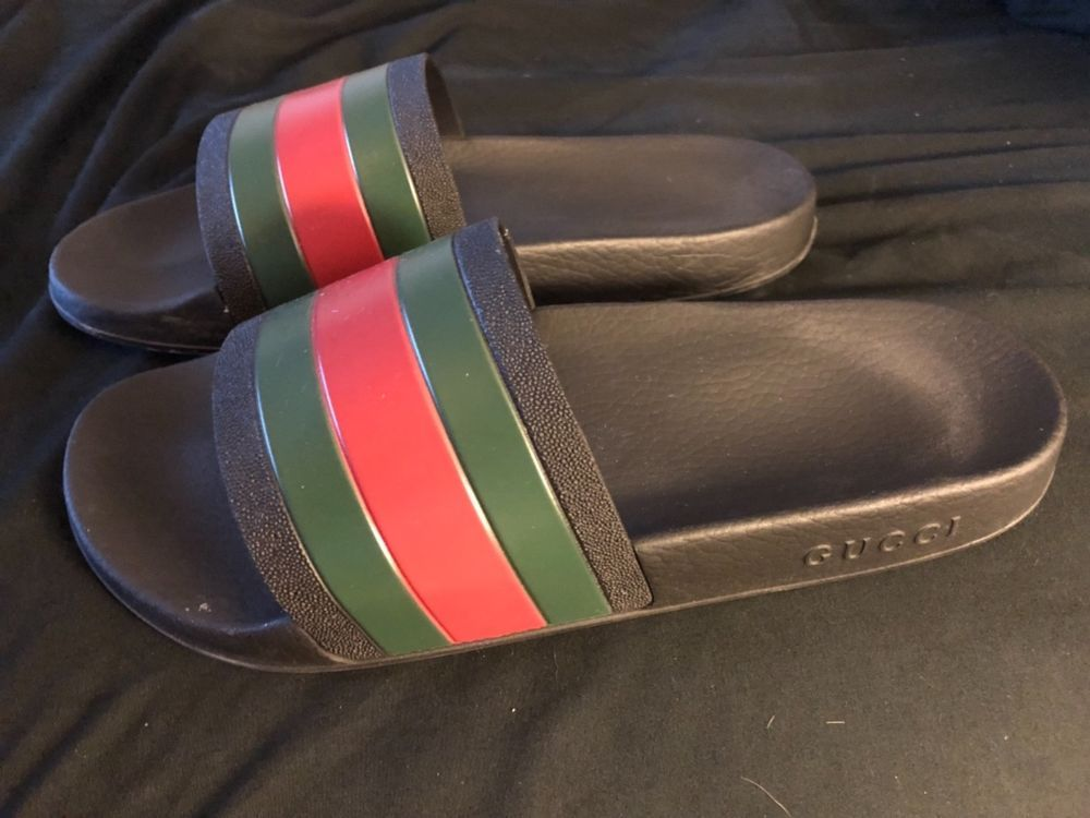 40248fd81 Authentic Gucci Flip Flops - Mens Size 9 - 9 10 Condition  fashion  clothing   shoes  accessories  mensshoes  sandals (ebay link)
