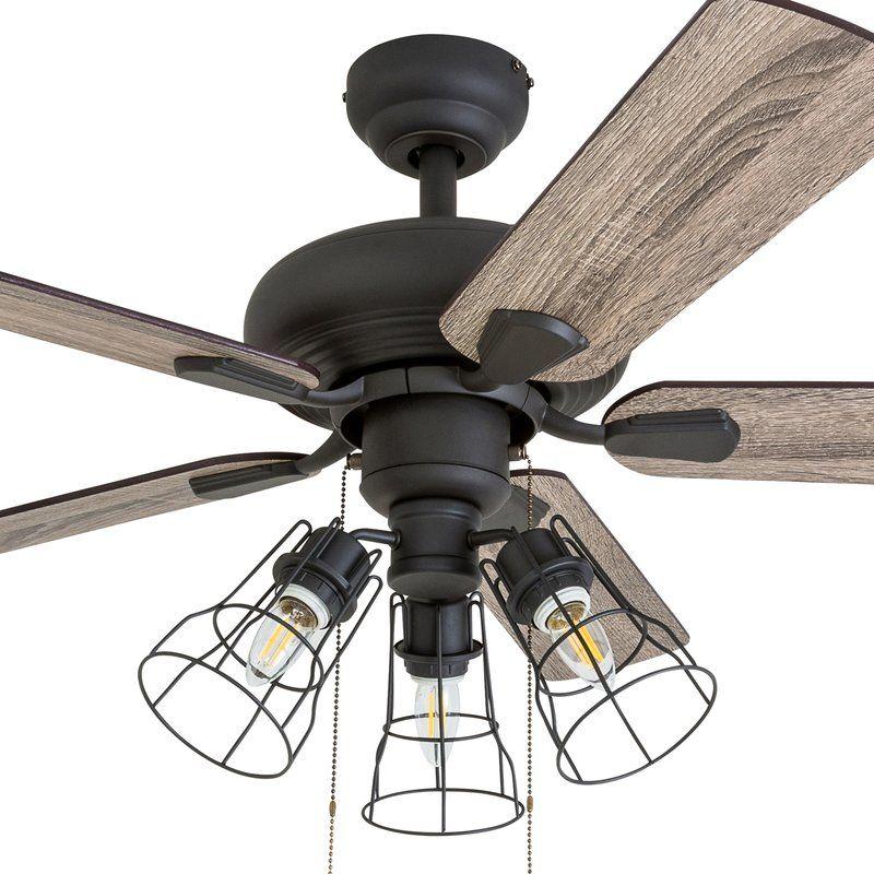 """42"""" Oisin 5 Blade Ceiling Fan, Light Kit Included in 2020"""