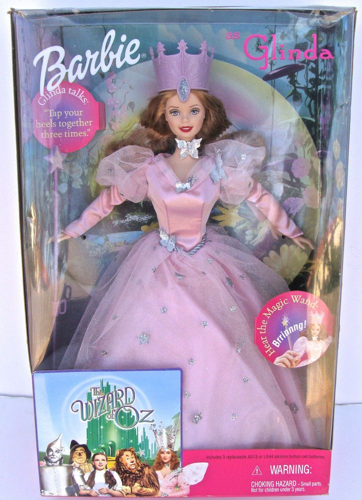 Glinda the Good Witch in the Wizard of Oz 1996 Barbie Doll