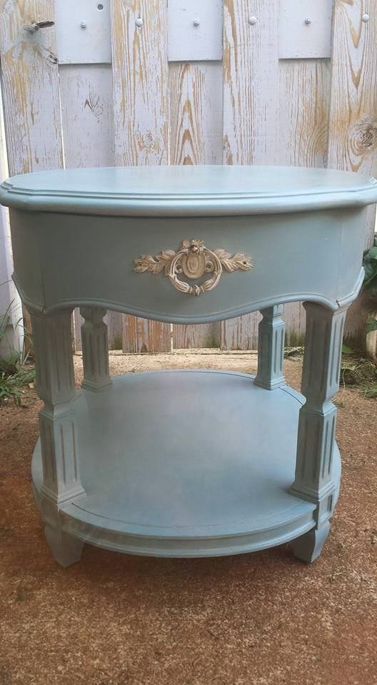 Thomasville End Table 1973 My Furniture Refinished End