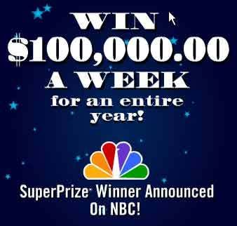 Win PCH com $100, 000 Week for one Year | Publisher Clearing House