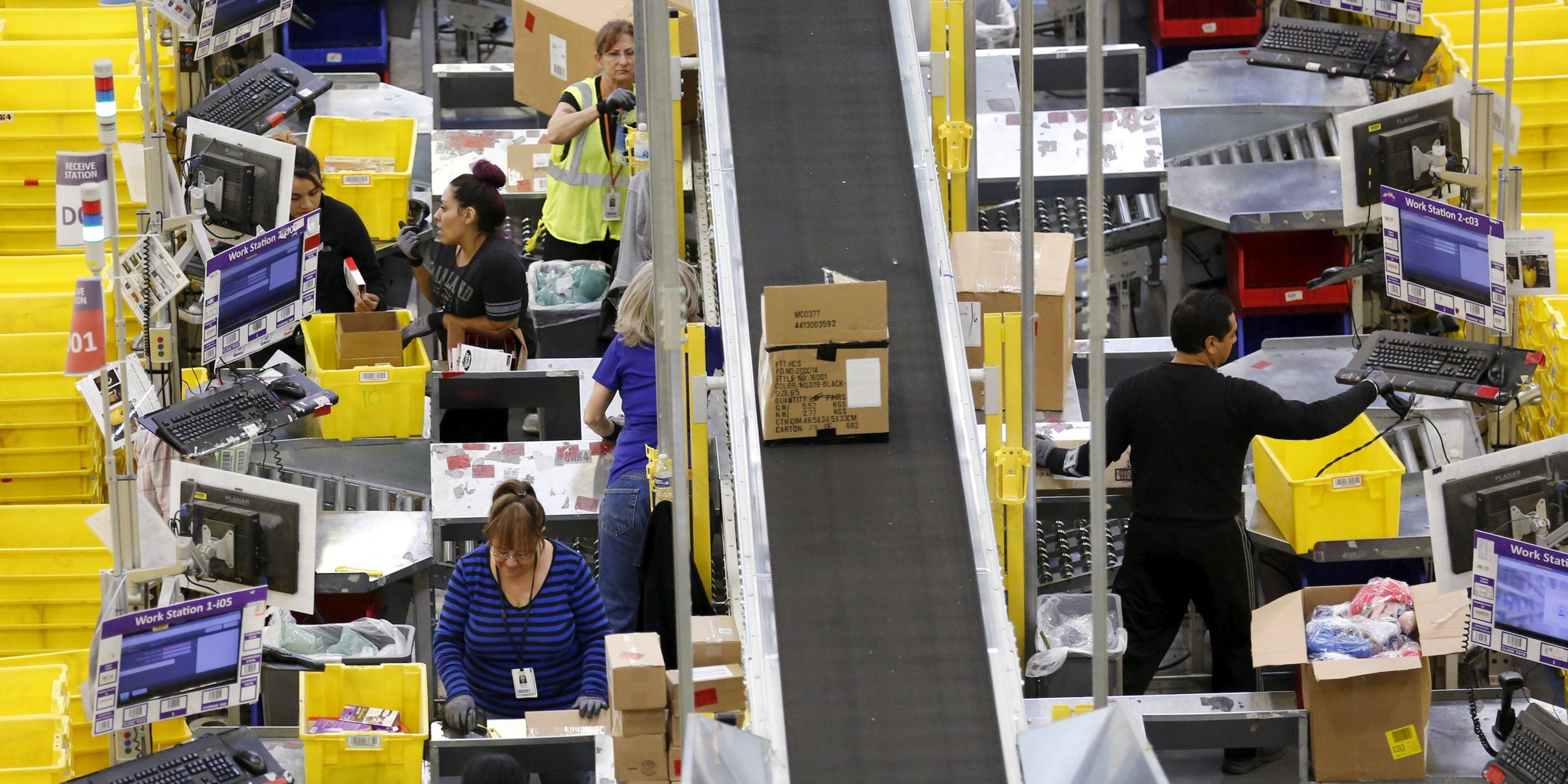 Amazon Warehouse Work Conditions Savaged By New York Labor Union