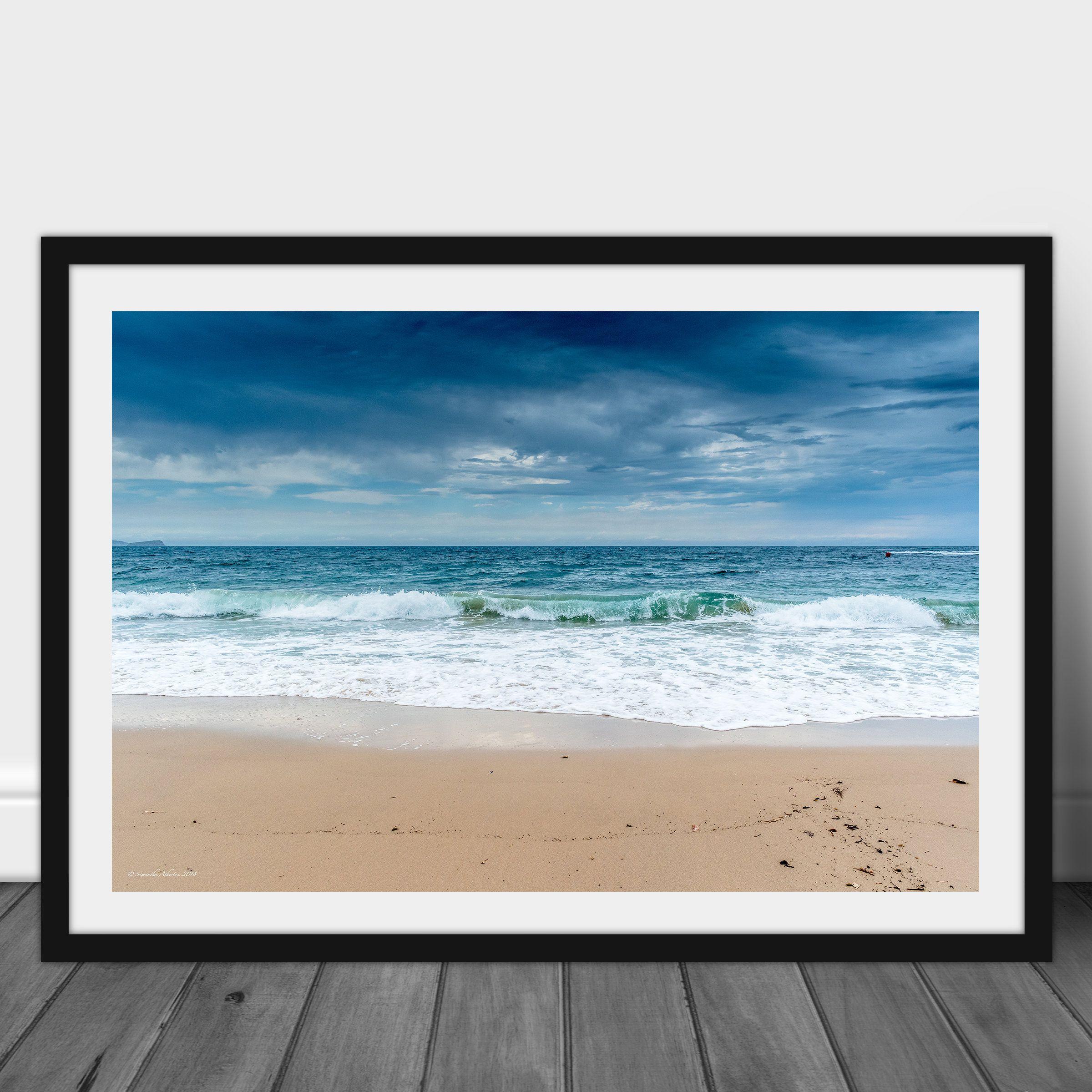 Coastal Wave Beach Print Seascapes Australian Landscape Photography Printable Coastal Decor Beach House Surf Ocean Photography Coastal Beach Decor Landscape Ocean Photography