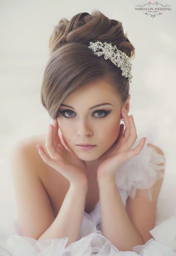 10 Preciosos Peinados De Novia Que Te Encantaran Boda By Julieta - Peinados-novia-boda