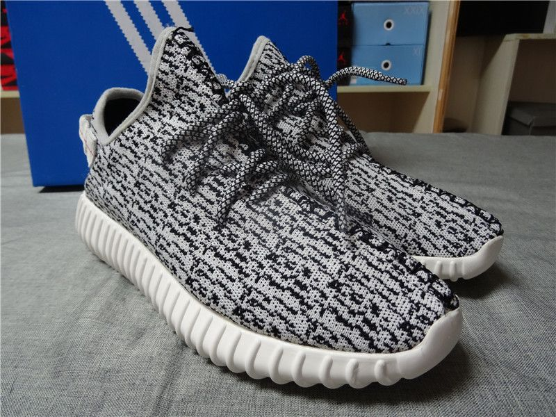 Updated UA Adidas Yeezy 350 boost Low black and grey(fit one size bigger)