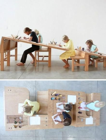 Creative Desks the creative desk is suitable for children of different ages