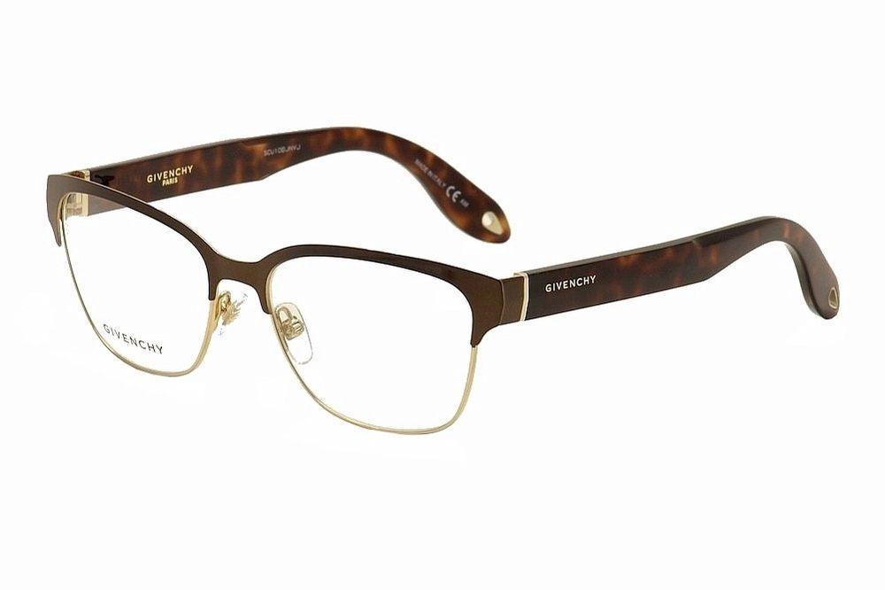 0bac7c4046 Givenchy Eyeglasses GV 0004 GV 0004 QUZ Brown Havana Full Rim Optical Frame  56mm