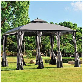 Wilson Fisher 10 X 12 Somerset Gazebo At Big Lots Gazebo Outdoor Big Lots
