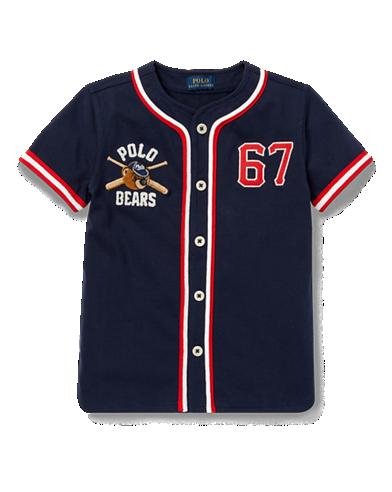 7bfb571f Polo Bear Baseball Jersey | Izak Rayne | Baseball jerseys, Polo ...