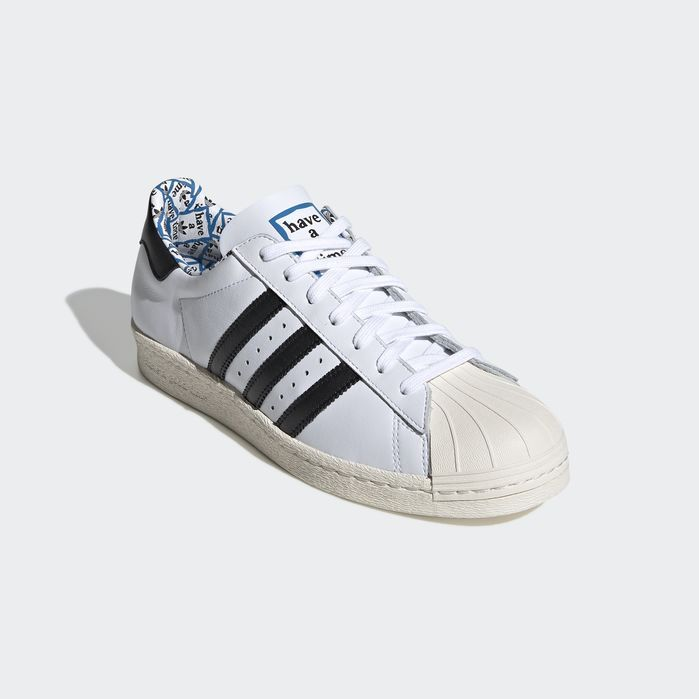 free shipping 317ab 4d4e8 SUPERSTAR80s HAGT White 12.5 Mens 80s Shoes, Adidas Superstar
