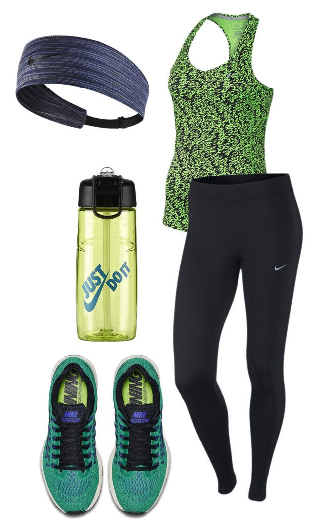 """Workout"" by carlafashion-246 ❤ liked on Polyvore featuring NIKE"