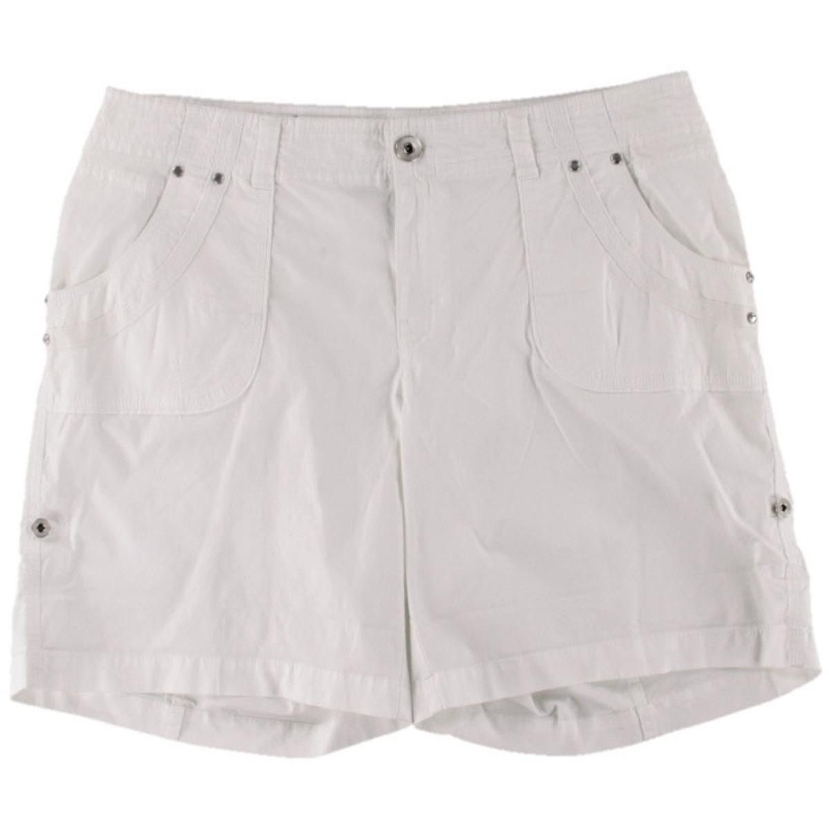 INC Womens Cuffed Embellished Casual Shorts