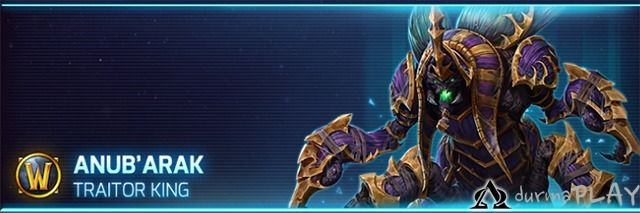 Heroes Of The Storm Da Anub Arak Haftasi League Of Legends Hero World Of Warcraft I heard that they used his old actor for abathur, so they didn't. pinterest