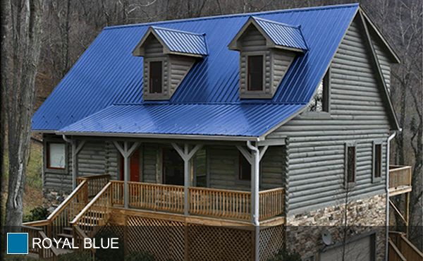 Blue Roof Dream Home Pinterest Metal Roof Metals