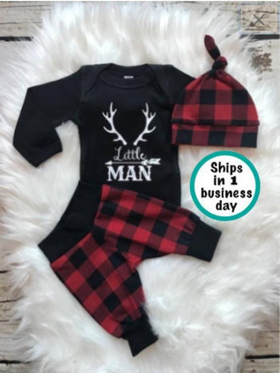 5e0de1543 BABY BOY Baby Boy Coming Home Outfit Baby Shower Gift Newborn Boy ...