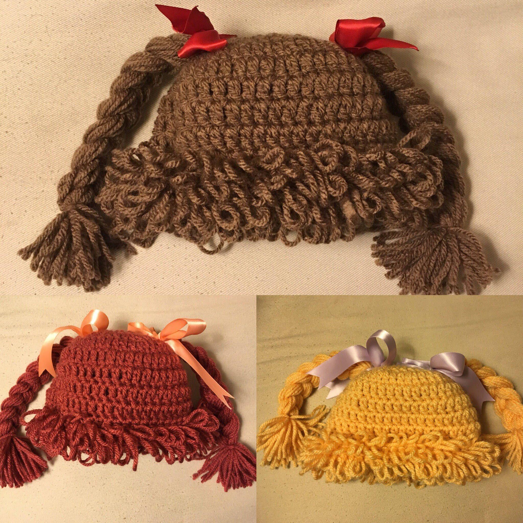 Cabbage Patch Hat Crochet Pattern Free Unique Ideas