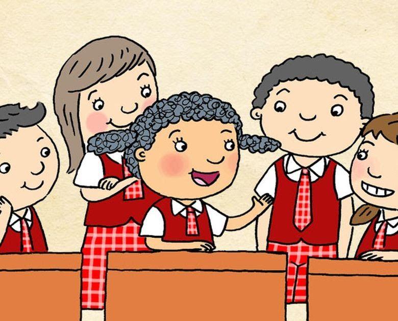 20 Gambar Kartun Kerjasama Di Lingkungan Masyarakat Apa Hak Kewajiban Anak Di Rumah Dan Di Sekolah Semua Download 10 Co Di 2020 Kartun Gambar Menggambar Karikatur