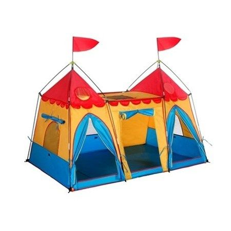 The Fantasy Palace Kids Play Tent children ages 3 and older can let their imaginations run  sc 1 st  Pinterest & The Fantasy Palace Kids Play Tent children ages 3 and older can ...