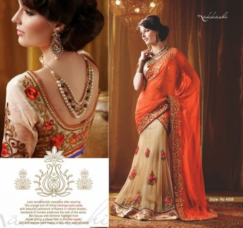Gorgeous Wedding / Partywear Lehenga Ensemble | $ 99! @ http://www.eBay.com/itm/Designer-Indian-Bollywood-Wedding-Partywear-Evening-Lehenga-Saree-Sari-4006-/131080823979?pt=LH_DefaultDomain_0&hash=item1e8506a4ab