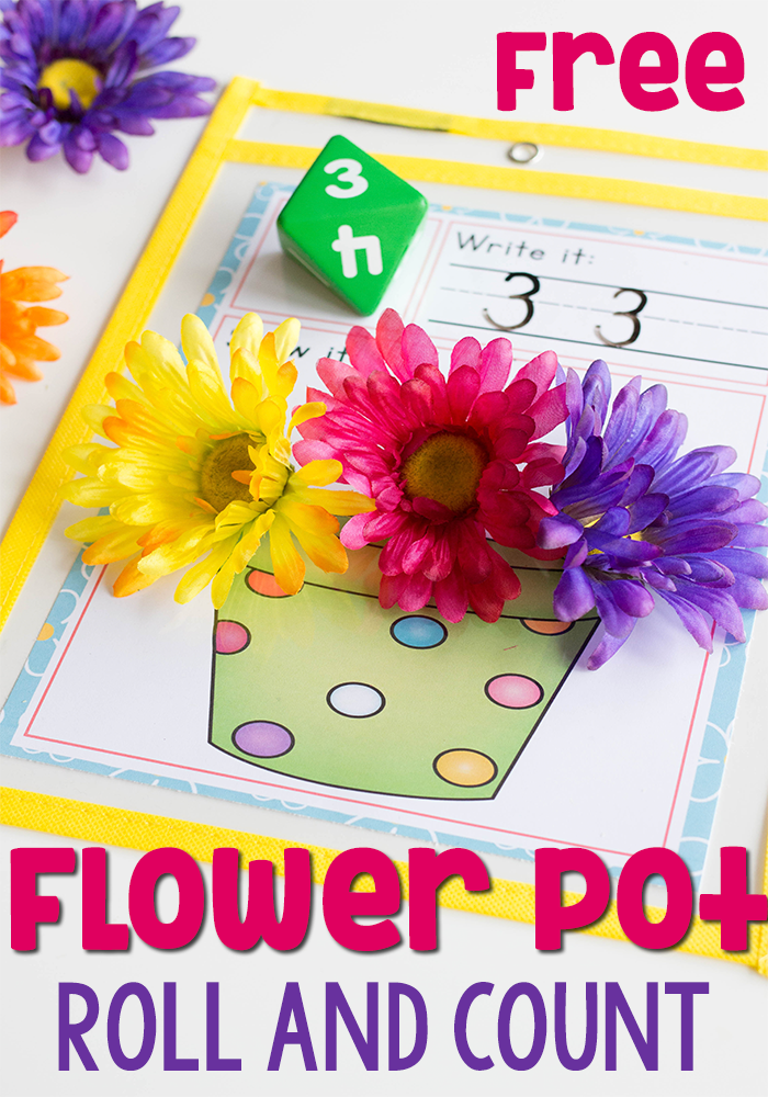Grab this no prep spring math game! | Counting activities ...