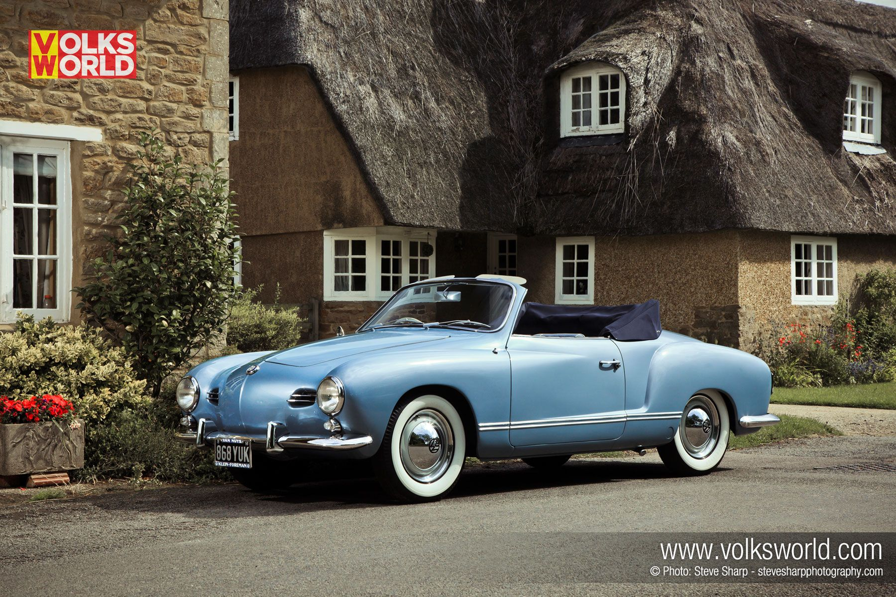 Volkswagen never built a right hand drive 1958 karmann ghia convertible so barry and