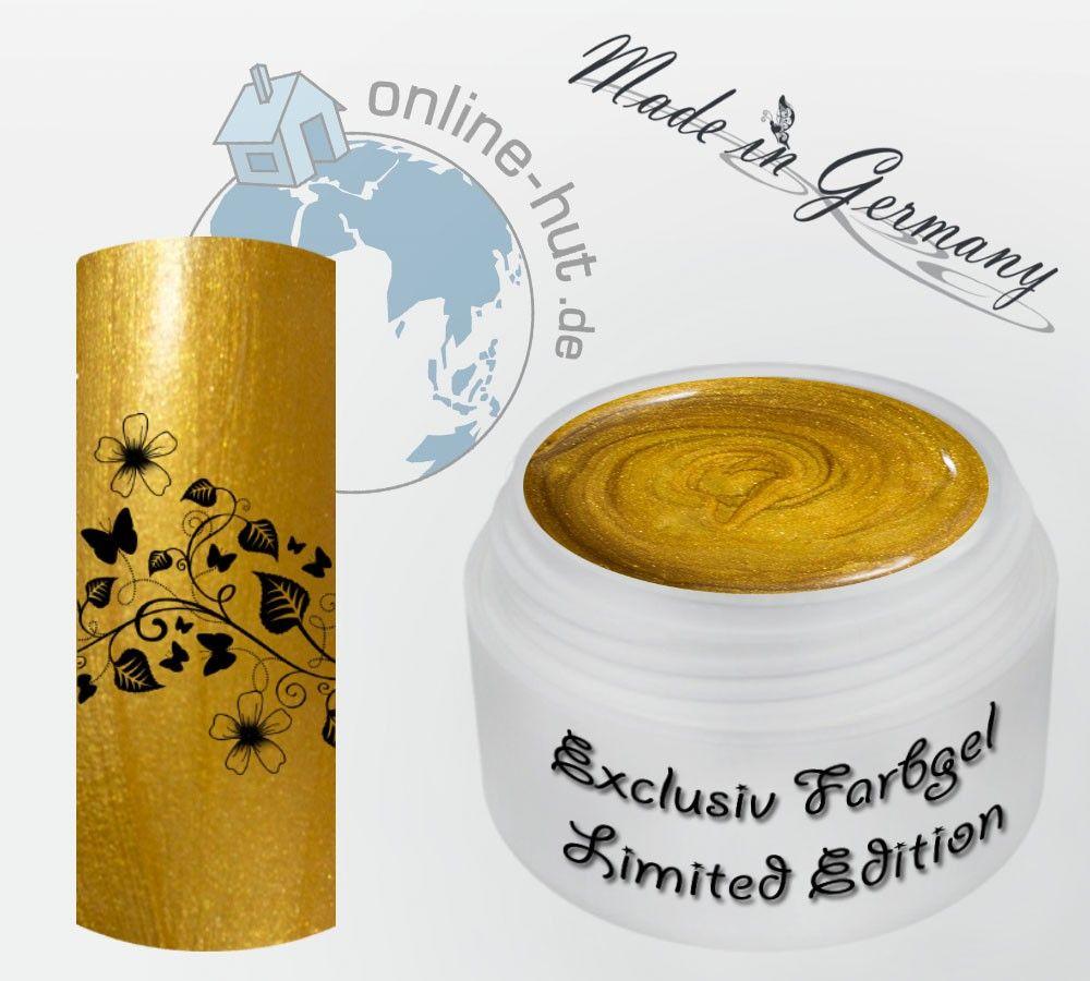 5ml UV Exclusiv Farbgel Limited Edition Gelbgold