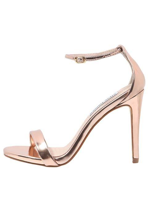 Wies Stilettos hohlen Leder Sandalen Schuhe mit hohen Absätzen, grün, 32