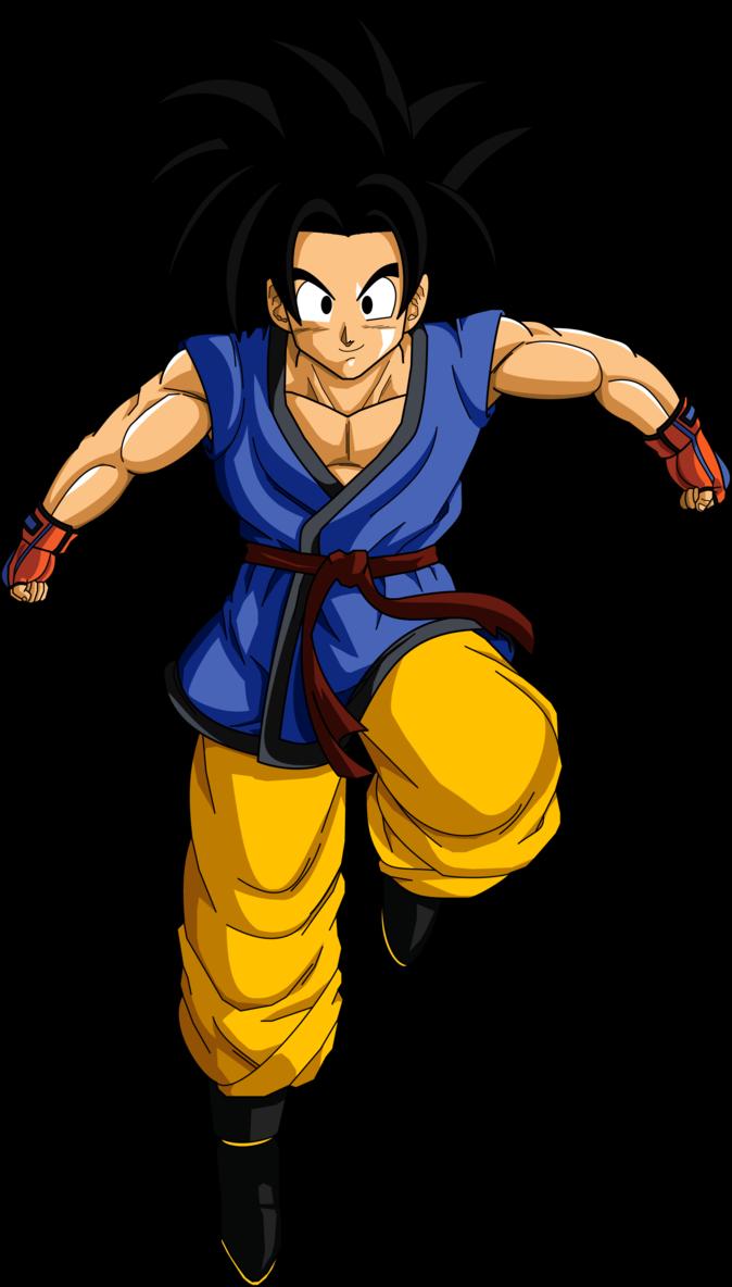 Goku Ssj By Bardocksonic D5vstf7 Png 2 028 3 000 Pixeles Anime Dragonball Z Desenhos Incriveis