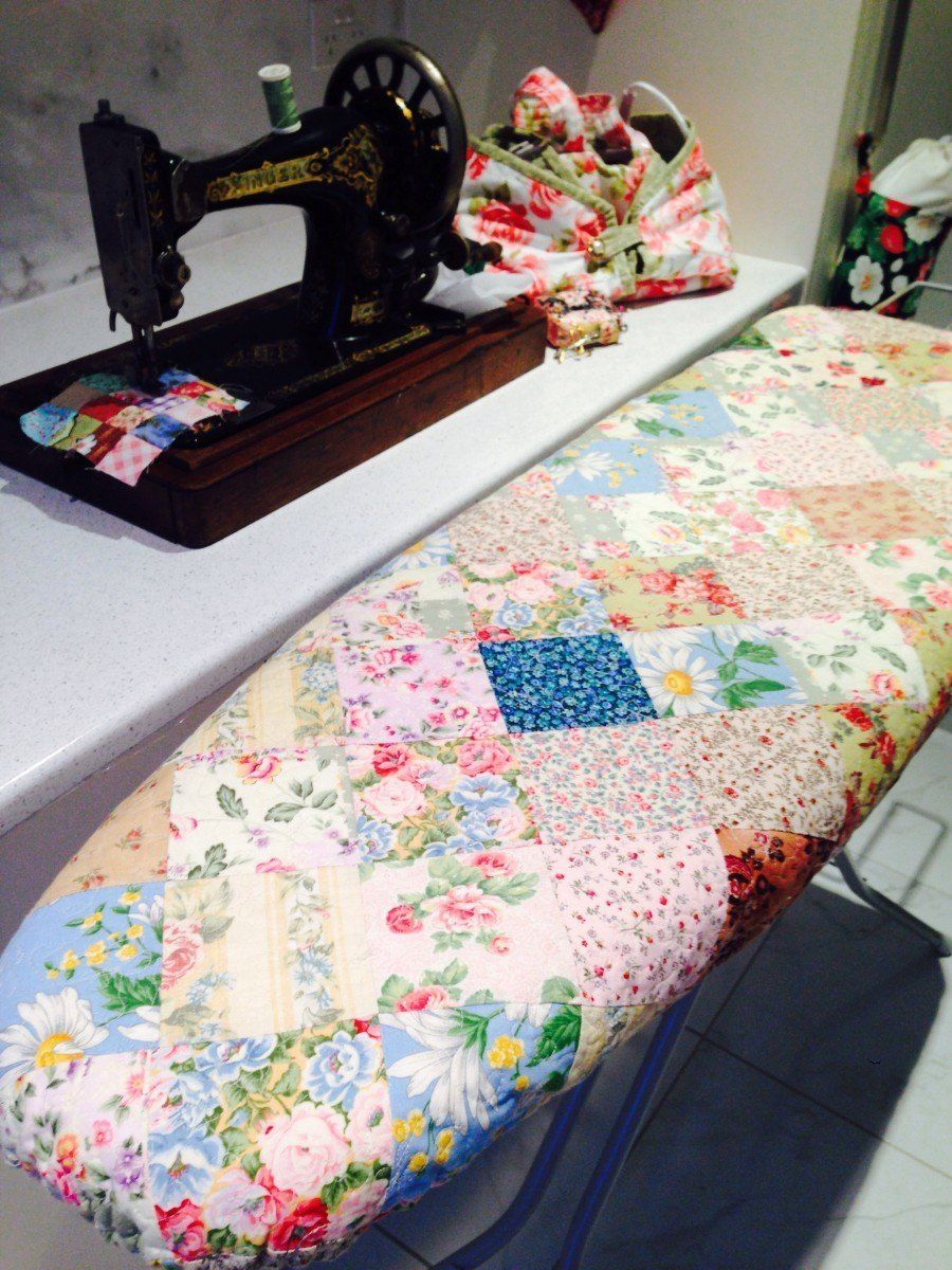 Ironing Board Quilt   Sewing Home   Pinterest   Ironing boards ... : quilting ironing board cover - Adamdwight.com