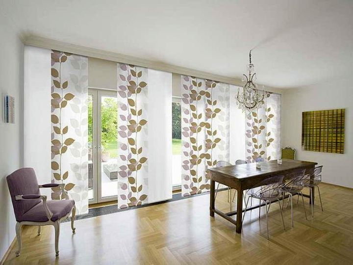 Minimalist Modern Sliding Glass Door Designs Window Treatments Living Room Curtains Living Room Modern Patio Door Coverings