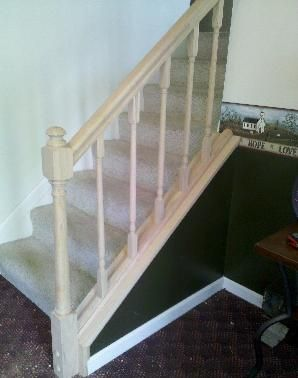 Wonderful How To Install DIY Oak Handrail And Balusters On Stairs. Oak Handrail And Baluster  Installation For Do It Yourselfers.