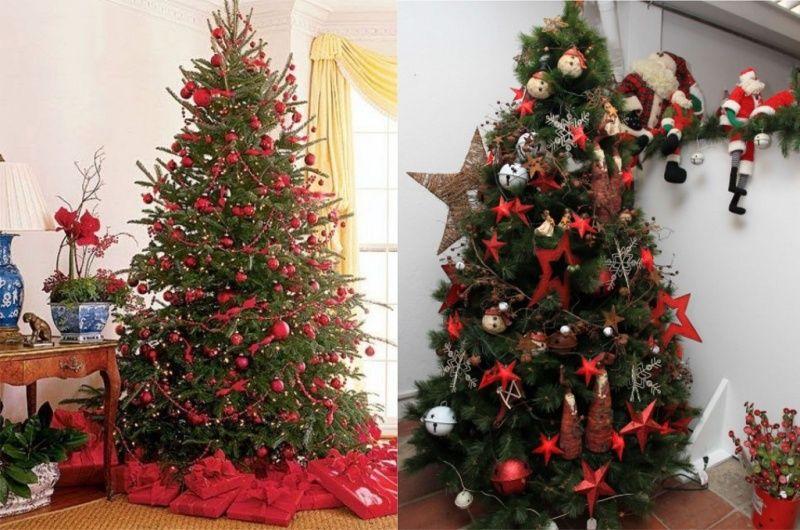 Decorazioni Albero Di Natale Blu : Albero di natale colori idee e suggerimenti merry