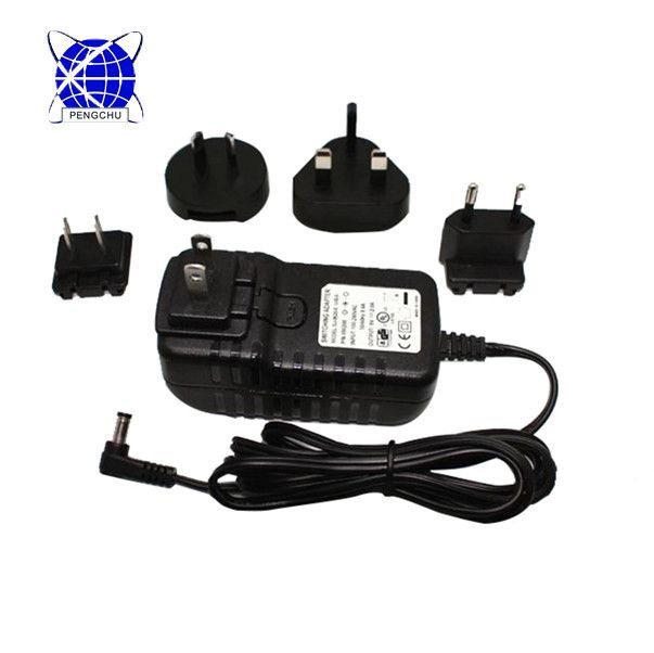 Au Eu Us Uk Plug Wall Mount 12v 3a Cctv Power Adapter Power Adapter Adapter Interchangeable