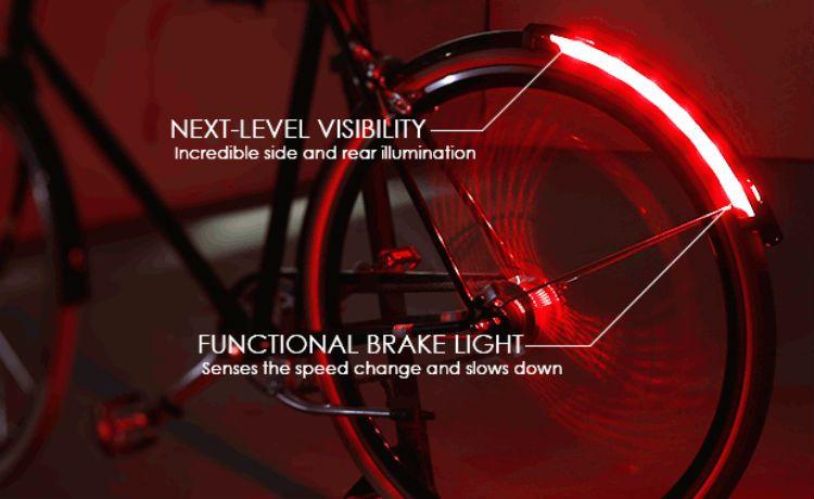 Revolights: o acessório que imita, na bike, a luz de freio dos carros