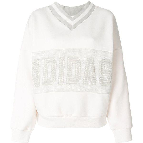 Adidas Adidas Originals Adibreak sweatshirt (€125) ❤ liked on Polyvore  featuring tops,